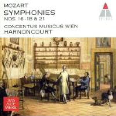 モーツァルト:交響曲第16&17&18&21番/