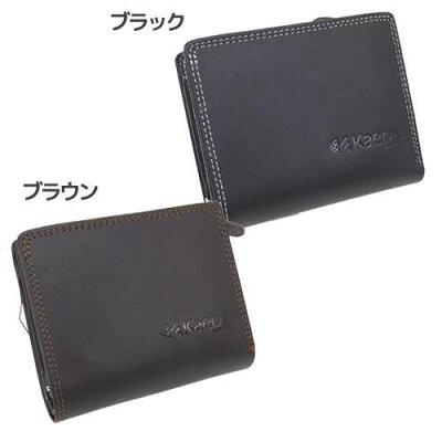 Kaepa. ケイパ メンズ財布 2つ折りショートウォレット サンアート 11×9.5×3cm 紳士