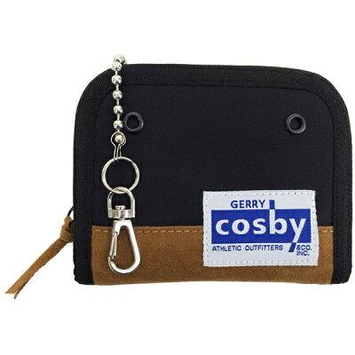ジェリーコスビー GERRY cosby ウォーレット ラウンドファスナー二つ折り財布