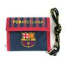 FCバルセロナ 2つ折り財布 横型ウォレット バルサ 2nd サッカー サンアート スペイン フットボール