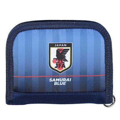 日本代表 オフィシャル ラウンドウォレットバンダイサッカー サポーター グッズ 財布 サイフ