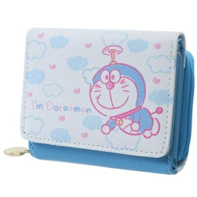 サンアート ドラえもん 三つ折り財布 ドラえもん I m Doraemon