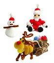 ふわふわビーズキット クリスマスサンタがやってくる/FB-580-22