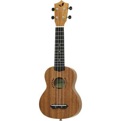 ギグバッグ付 Laule`a ラウレア LAM-1S マホガニーボディ ソプラノ ウクレレ