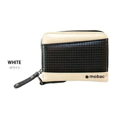 ポーム ラウンドファスナー 二つ折り財布 MB-0015 ホワイト