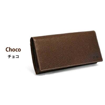 ポーム メンズ 長財布 VA-1000 チョコ