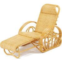 今枝商店 籐三つ折寝椅子 カバー付沖縄 XA100M