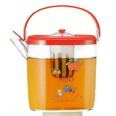 フリージーポット アップル5ファイブ 1.2LKKS-330058ピッチャー茶