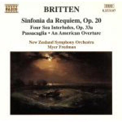 ブリテン:鎮魂交響曲 Op. 20/4つの海の間奏曲 アルバム 8553107