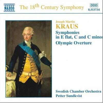 クラウス:交響曲集・オリンピア序曲 アルバム 8553734
