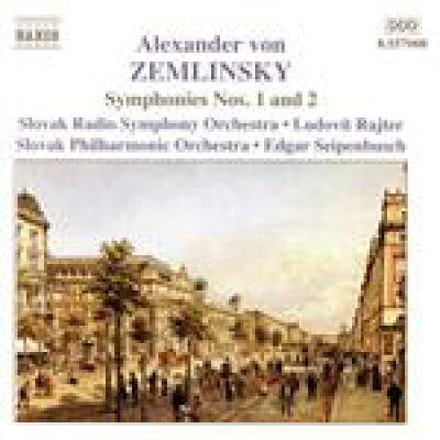 ツェムリンスキー:交響曲第1番, 第2番 アルバム 8557008
