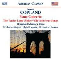 コープランド:組曲「入札地」/ピアノ協奏曲/アメリカの古い歌(パスターナック/エルジン響/ハンソン) アルバム 8559297