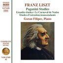 Liszt リスト / Complete Piano Works Vol.42-paganini Studies: Filipec 輸入盤