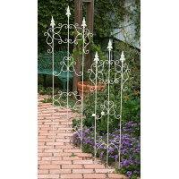 大同クラフト/ホワイトトレリスM アイボリー/KWF01-M130 2個 ガーデニング用品 ガーデン家具 ラティス・フェンス