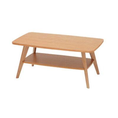 あずま工芸 リビングテーブル クレープ 90cm幅 ナチュラル色 WLT-2136