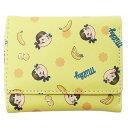ペコちゃん レディース ショートウォレット 三つ折り 財布 バナナ 不二家 アートウエルド コンパクトウォレット