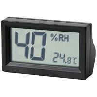 東洋リビング OP-AD-HD-BK ブラック デジタル温湿度計