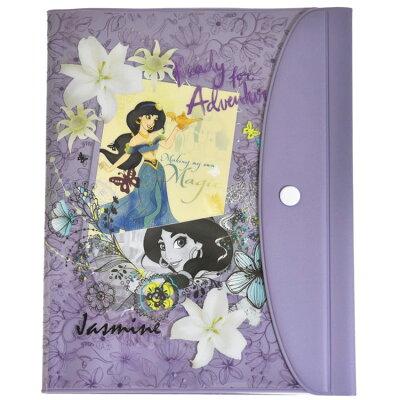 B6サイズ 手帳カバー 手帖アクセサリー アラジン ジャスミンディズニープリンセス デルフィーノ
