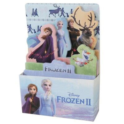 アナと雪の女王2 付箋 BOX ふせん 集合 ディズニー デルフィーノ コレクション雑貨 プチギフト キャラクターグッズ通販 シネマコレクション