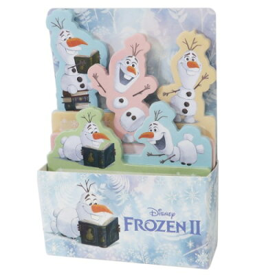 BOX ふせん 付箋 アナと雪の女王2 オラフ ディズニー デルフィーノ