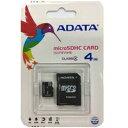 ADATA microSDHC Class 4 4GB アダプタ付