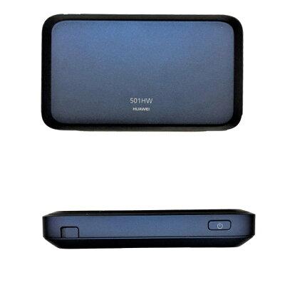 アドテック AD-501HWSK24 アキバモバイル プリペイド式Wi-Fiルータ Pocket WiFi 501HW 4G/ LTE スターターキット 初月+24ヶ月パック