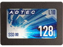 アドテック AD-L10D128G-25I ADTEC SSD L10 Series 128GB 3D TLC 2.5inch SATA