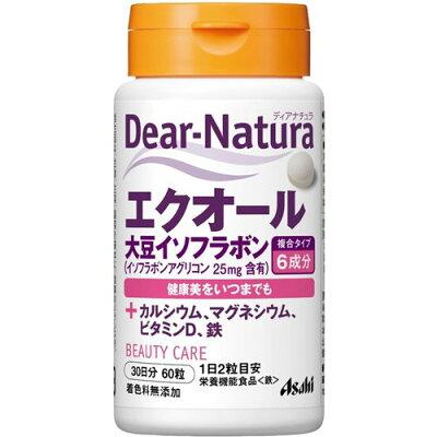 ディアナチュラ エクオール+大豆イソフラボン 30日分(60粒)