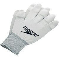 SPEEDO(スピード)競泳水着用 フィッティンググローブ 手袋 SD95A51A Wホワイト