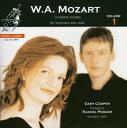 Mozart モーツァルト / Complete Violin Sonatas Vol.1: Podger Vn , G.cooper Fp