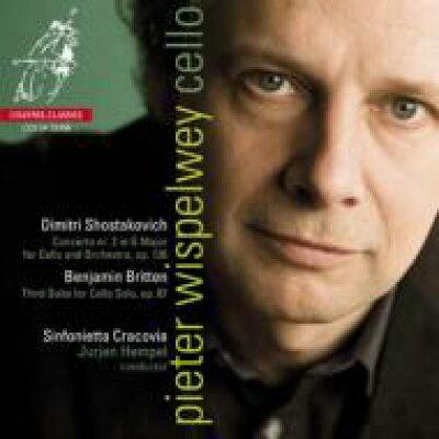 Shostakovich / Prokofiev / Cello Sonata: Wispelwey Vc lazic P +britten: Cello Sonata