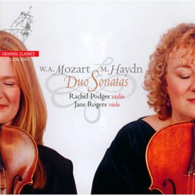 Mozart モーツァルト / Duo For Violin  Viola: Podger Vn Jane Rogers Va +m.haydn