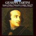 Tartini タルティーニ / Violin Sonatas Op, 6, : Casazza Vn Loreggian Cemb 輸入盤