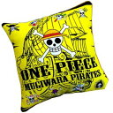 ワンピース 45cm角 クッション 海賊旗
