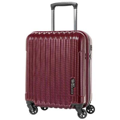 SKYNAVIGATOR スーツケース コインロッカー対応キャリー 28L SK-0722-42 ワインカーボン
