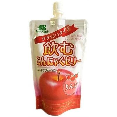 飲むこんにゃくゼリー クラッシュタイプ りんご(130g)