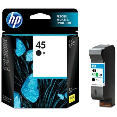 HP インクカートリッジ 黒 51645AA#003 1色