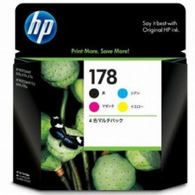 HP インクカートリッジ 4色マルチパック CR281AA 4色
