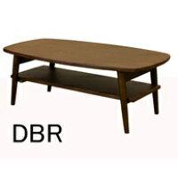TRIM 棚付折れ脚ローテーブル 90x50 木製ローテーブル リビングテーブル 座卓