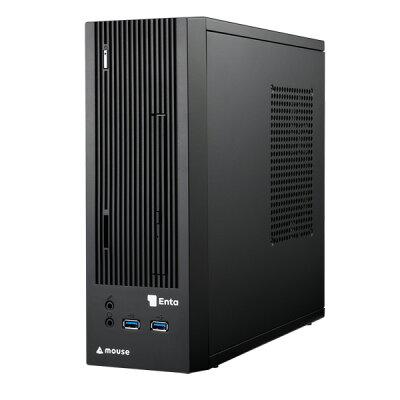マウスコンピュータ MouseComputer 省スペースなスリムシャーシ採用 Win10 Homeモデル・A6-9500・メモリ4GB・SSD120GB・DVDスーパーマルチドライブ ENTA-SA6M4S1H1-183 ブラック
