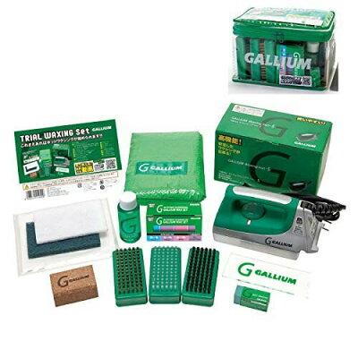 ガリウム GALLIUM トライアルワクシングセット Trial Waxing Set JB0009