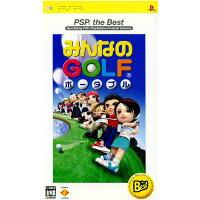 みんなのGOLF ポータブル(PSP the Best)/PSP/UCJS-18001/A 全年齢対象