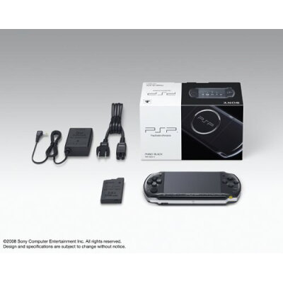 PSP(R)「プレイステーション・ポータブル」(ピアノ・ブラック)