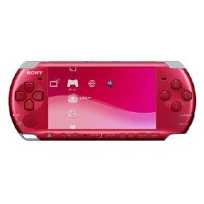 PSP(R)「プレイステーション・ポータブル」ラディアント・レッド