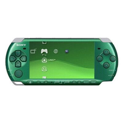 PSP(R)「プレイステーション・ポータブル」スピリティッド・グリーン