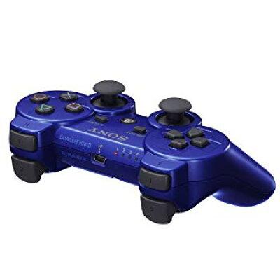 PS3用 ワイヤレスコントローラ DUALSHOCK3 メタリック・ブルーCECH-ZC2JMB