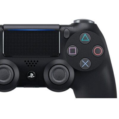 PS4用 ワイヤレスコントローラー DUALSHOCK4 ジェット・ブラック