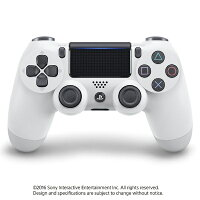 PS4用 ワイヤレスコントローラー DUALSHOCK4 グレイシャー・ホワイト CUH-ZCT2J13