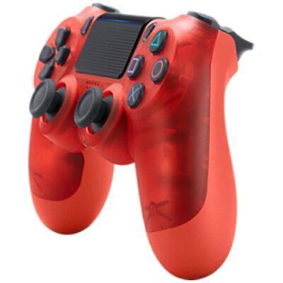 ソニー・インタラクティブエンタテインメント PS4専用ワイヤレスコントローラー DUALSHOCK4 レッド・クリスタル CUH-ZCT2J18