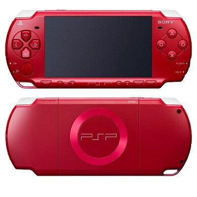 PSP(R)「プレイステーション・ポータブル」ディープ・レッド バリューパック